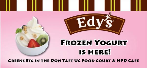 Edy's Frozen Yogurt for NSU students