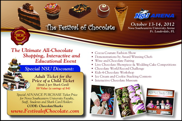 The Festival of Chocolate at NSU Arena