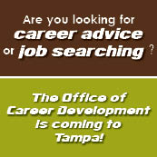 Career Office is coming to NSU Tampa for resume and interviewing workshops