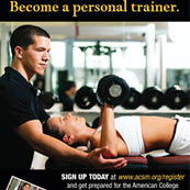 ACSM Certification Workshop--October 2012