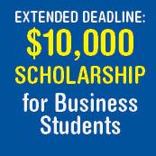 Horatio Alger-Huizenga Business School Scholarship