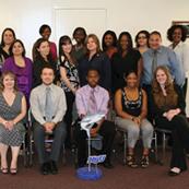 Golden Key International Honour Society members at NSU Miami-Kendall