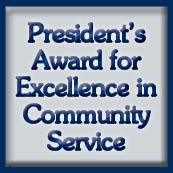 President's Award for Excellence in Community Service