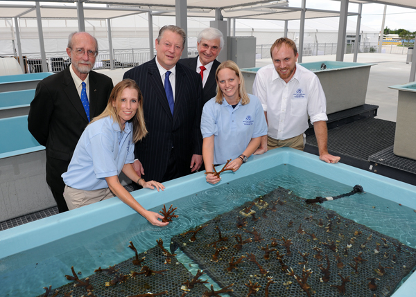 NSU Coral Reef Center Grand Opening Sept. 27, 2012