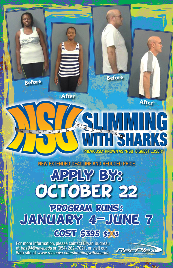 NSU Slimming with Sharks