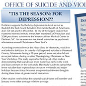 NSU's Office of Suicide & Violence Prevention