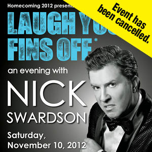 Laugh Your Fins Off NOv. 10--canclelled