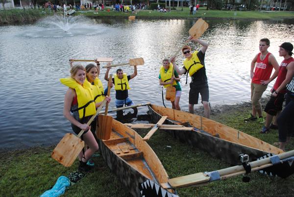 Raft Race 1st place winner