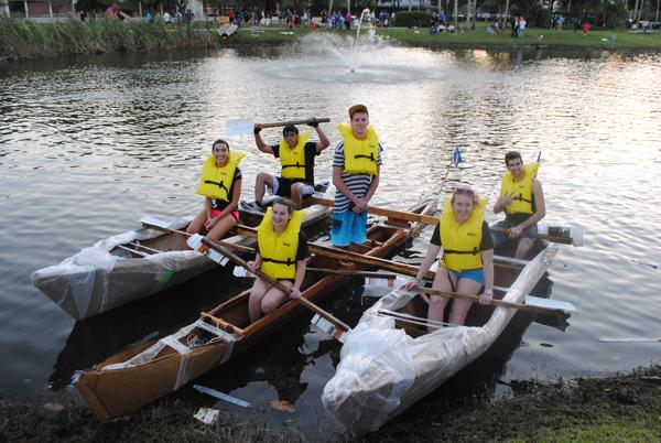 Raft Race 3rd place winner