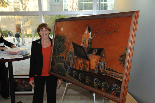 Artist and NSU employee Phyllis Rottman