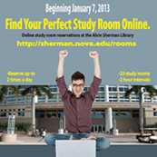 Find your perfect study room at Alvin Sherman library--room reservation online