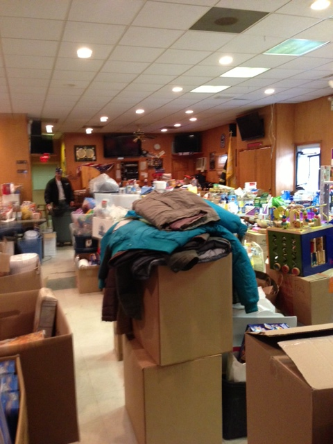 NSU Community Came Together for the Hurricane Sandy Relief Drive