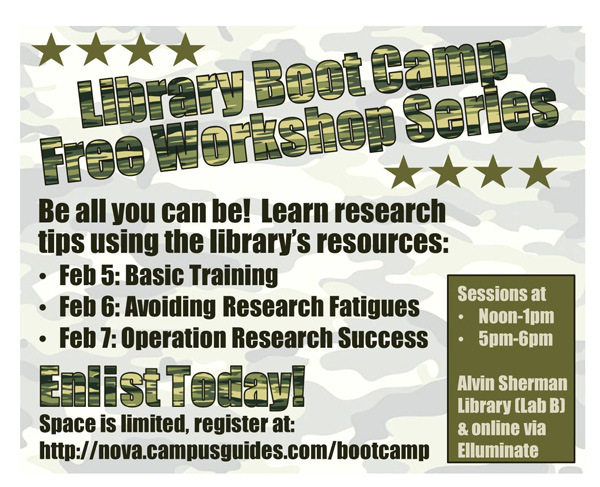 Free Library Boot Camp