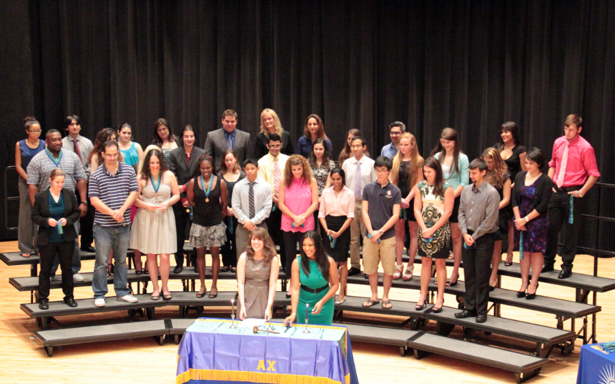 Top Undergraduate Students Inducted into Alpha Chi National Honor Society