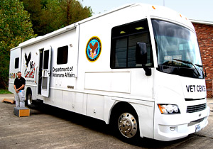 NSU Community Invited to Tour the Department of Veterans Affairs'  Mobile Vet Center