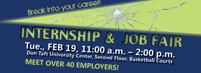 internship and job fair 2013