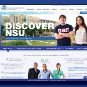 New NSU website