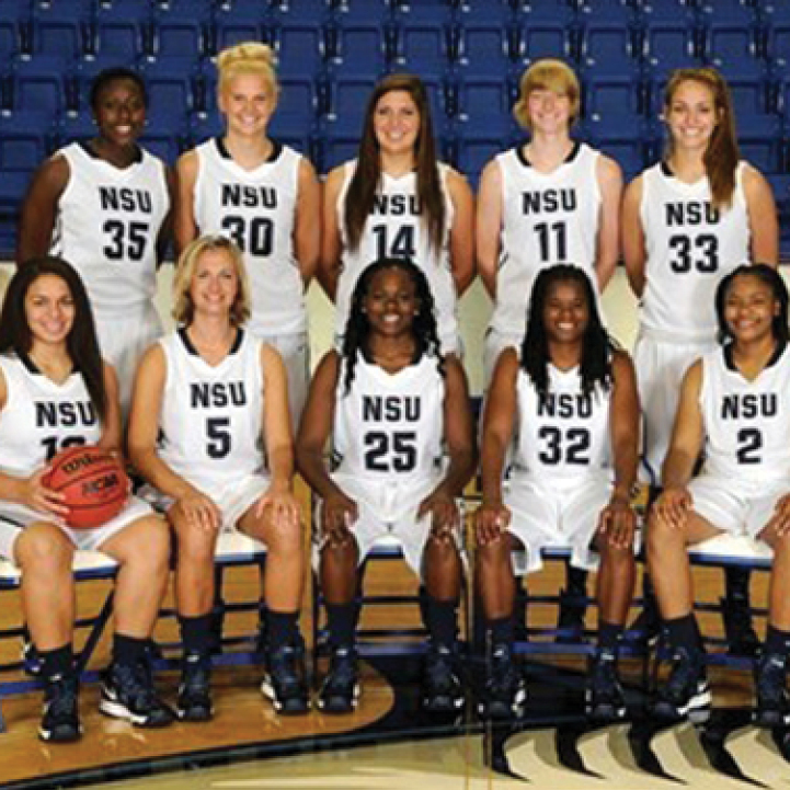 NSU Women's Basketball Team