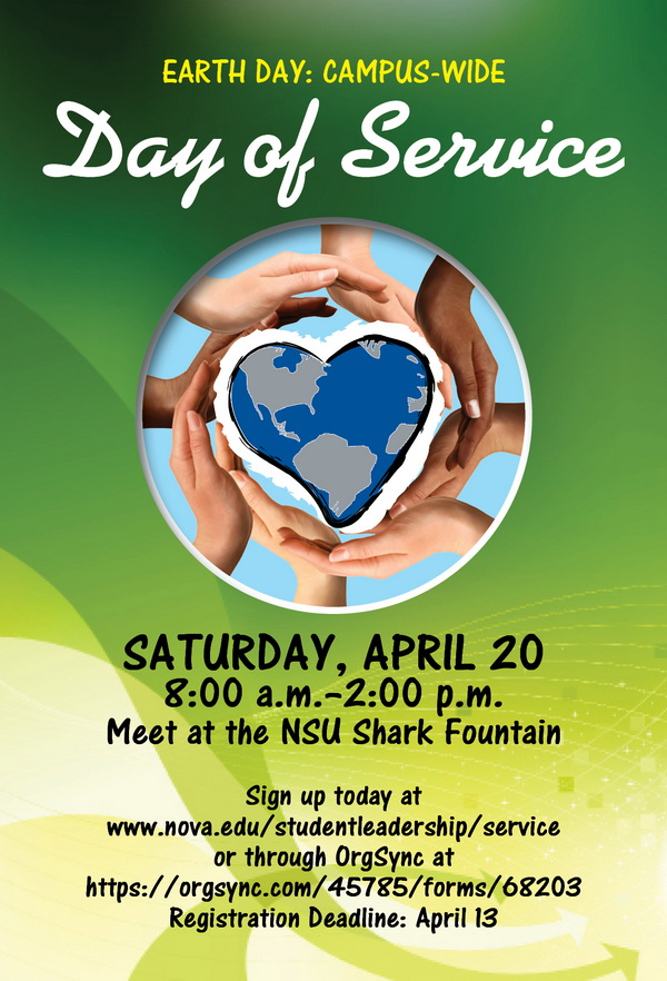 Earth Day-Campus-wide Day of Services