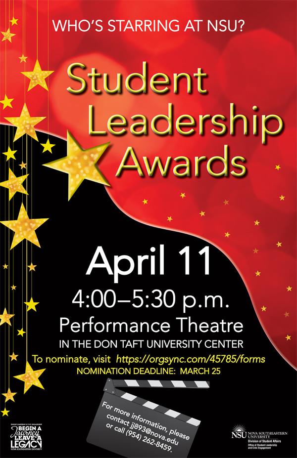 Student Leadership Awards 2013
