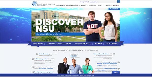 New NSU Website