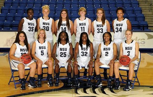 NSU Women's Basketball Team