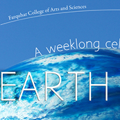 Earth Day series--Farquhar College of Arts and Sciences