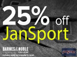 NSU Bookstore -- JanSport Discount