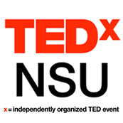 TEDxNSU -- independently organized TED events held at NSU, featuring engaging lectures and videos