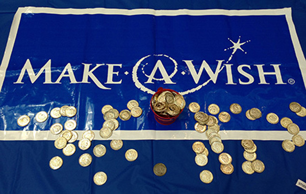 NSU SAAC Raises More Than $5,500 for Make-A-Wish Foundation