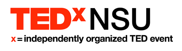 TEDxNSU -- independently organized TED events at NSU featuring lectures and video