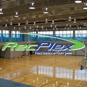 Basketball court close