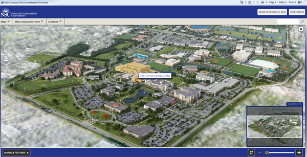NSU Launches Interactive Campus Map