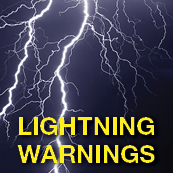 NSU Broadcasts Lightning Warnings