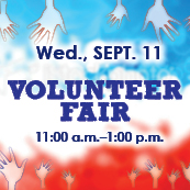 Volunteer Fair, September 11, 2013