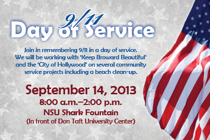 9/11 Day of Services, September 14, 2013