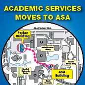 Academic Services--Including Tutoring and Testing--Moves to ASA Building