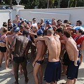 Swimming and Diving Receive Men's and Women's Team