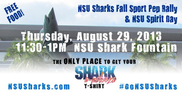 NSU Sharks Pep Rally