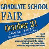 Graduate School Fair 2013
