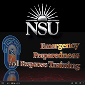 NSU Emergency Preparedness and Response Training