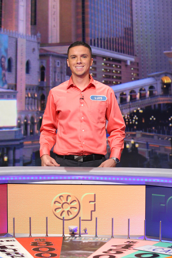Luis Hernandez Wheel of Fortune