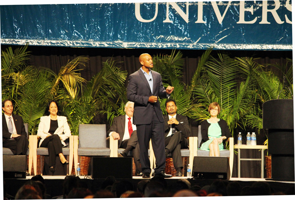 Youth advocate Wes Moore