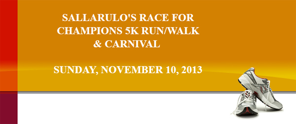Sallarulo Race for Champions 5K Run/Walk and Carnival