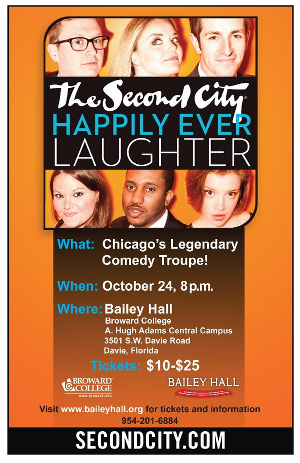 Second City Event at Bailey Hall. Broward Comunity College