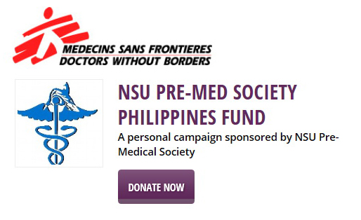NSU Doctors Without Borders Philippines Fund