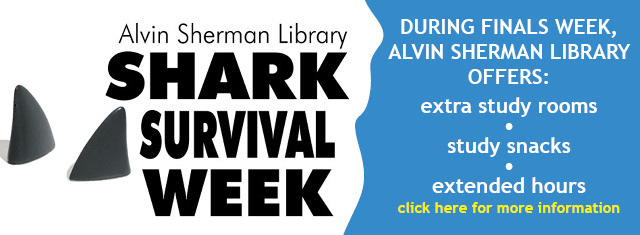 Shark Survival Week by Alvin Sherman Library