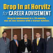 Drop In at Horvitz for Career Advisement