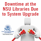 NSU Library Downtime