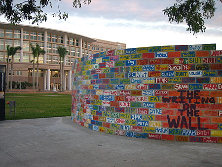 Wall of Hate at NSU